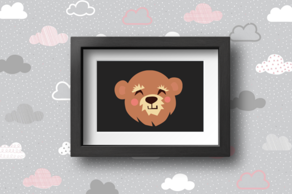 Print on Demand: BUNDLE- Cute Animals Characters Graphic Illustrations By duka - Image 2