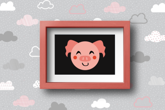 Print on Demand: BUNDLE- Cute Animals Characters Graphic Illustrations By duka - Image 9