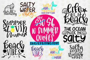 Download Free Big Summer Bundles Graphic By Coralcutssvg Creative Fabrica for Cricut Explore, Silhouette and other cutting machines.