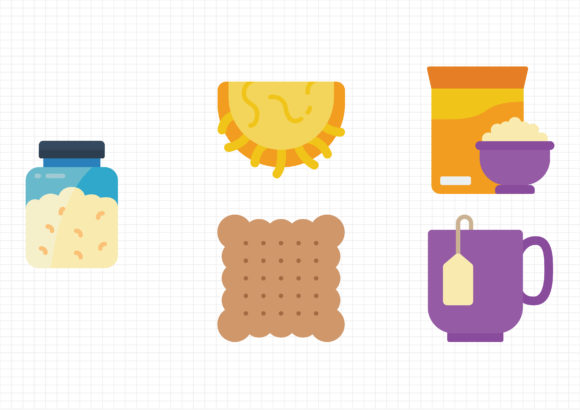 Download Free Breakfast Graphic By Gantengagif7 Creative Fabrica for Cricut Explore, Silhouette and other cutting machines.