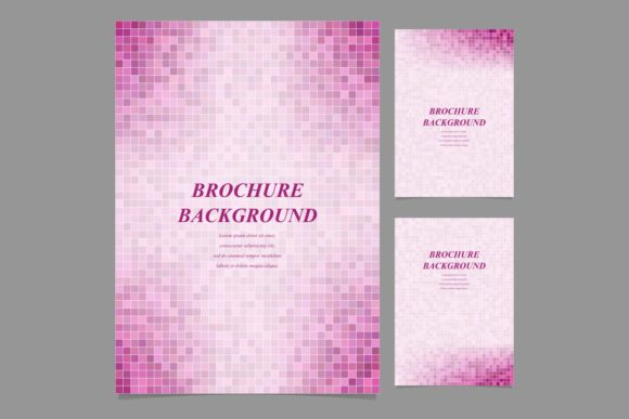 Brochure Backgrounds Graphic Print Templates By davidzydd