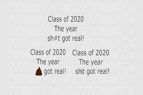 Download Free Class Of 2020 Graphic By Dddesigns Creative Fabrica for Cricut Explore, Silhouette and other cutting machines.