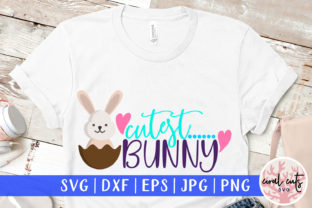 Cutest Bunny Graphic Crafts By CoralCutsSVG