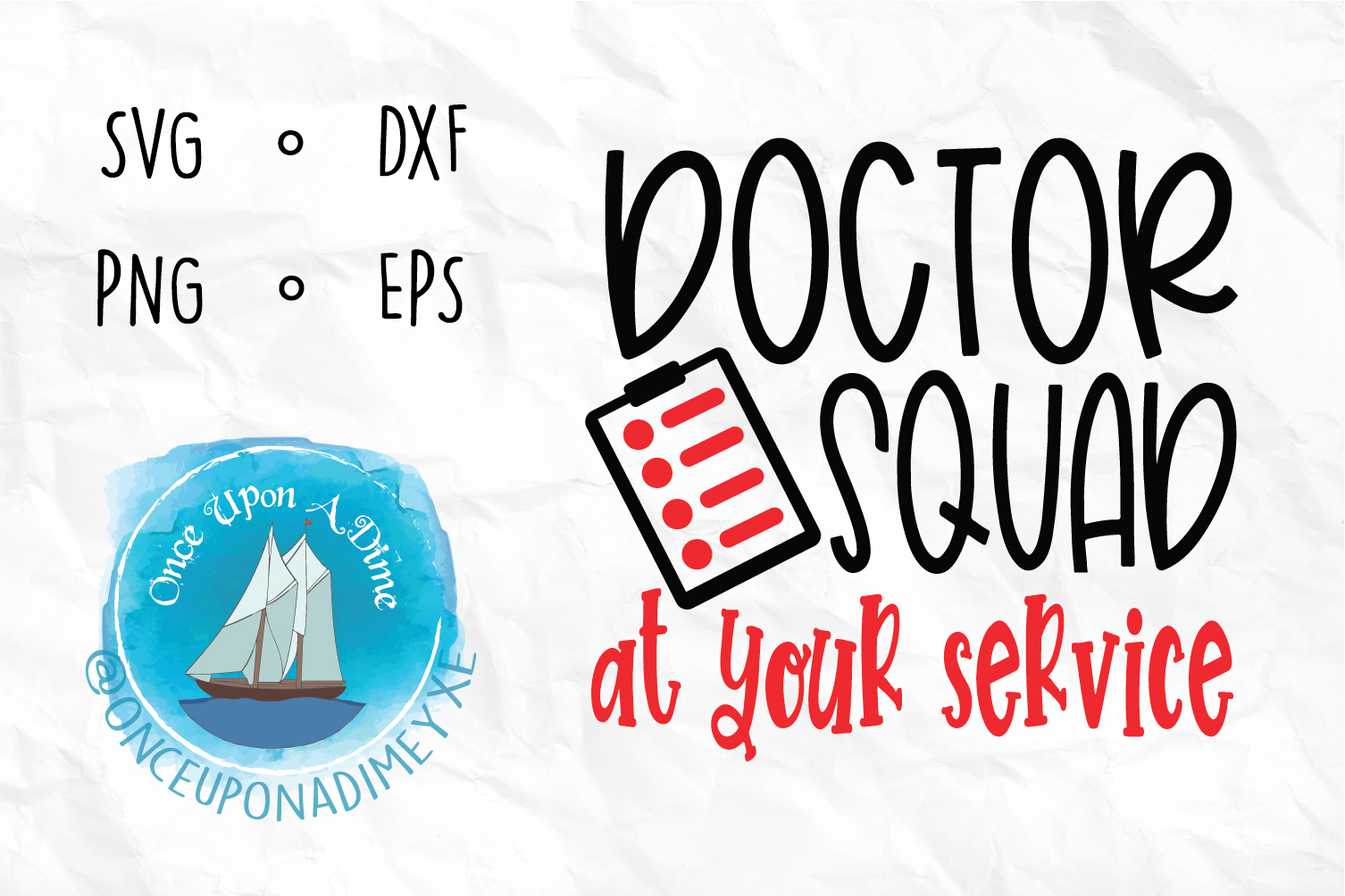 Download Free Doctor Squad Doctor Healthcare Svg Graphic By for Cricut Explore, Silhouette and other cutting machines.
