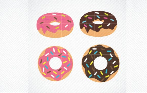Download Free Donut Cricut Cut File Graphic By Svg Den Creative Fabrica for Cricut Explore, Silhouette and other cutting machines.