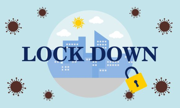 Download Free Earth Character Lockdown Stay Safe Graphic By 2qnah Creative for Cricut Explore, Silhouette and other cutting machines.