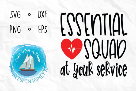 Download Free Essential Squad Nurse Healthcare Svg Graphic By for Cricut Explore, Silhouette and other cutting machines.