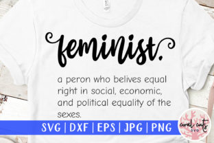 Feminist Definition Cut File Graphic Crafts By CoralCutsSVG