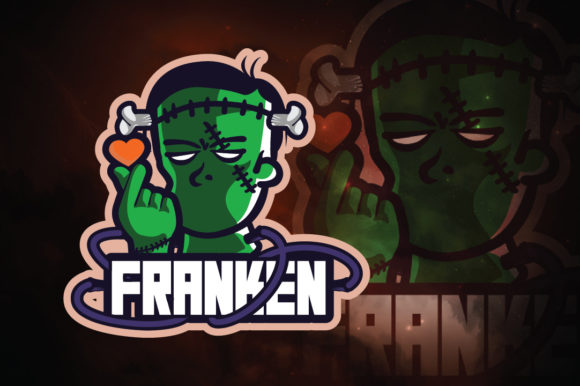 Download Free Frankenstein E Sport Logo Grafico Por Remarena Creative Fabrica for Cricut Explore, Silhouette and other cutting machines.
