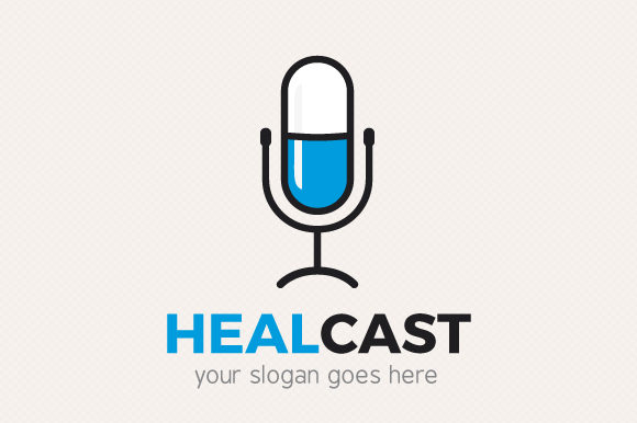 Download Free Health Podcast Logo Graphic By Sargatal Creative Fabrica for Cricut Explore, Silhouette and other cutting machines.