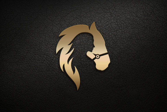 Horse and Girl Logo Graphic Logos By Herulogo