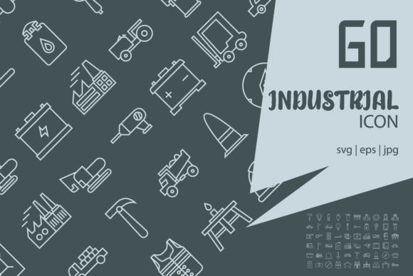 Download Free Industrial Graphic By Astuti Julia92 Creative Fabrica for Cricut Explore, Silhouette and other cutting machines.