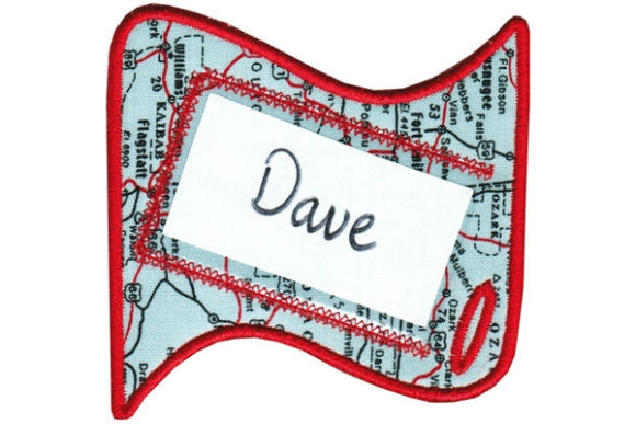 Luggage Tag Sewing & Crafts Embroidery Design By Sookie Sews