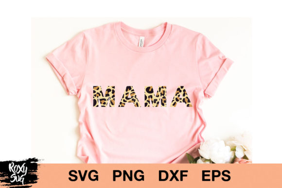 Print on Demand: Mama's Girl Graphic Crafts By roxysvg26 - Image 4