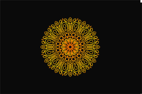 Download Free Mandala Art 0105 Graphic By Uungurukreatif Creative Fabrica for Cricut Explore, Silhouette and other cutting machines.