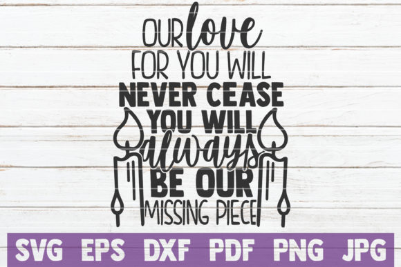 Our Love for You Will Never Cease Graphic Crafts By MintyMarshmallows