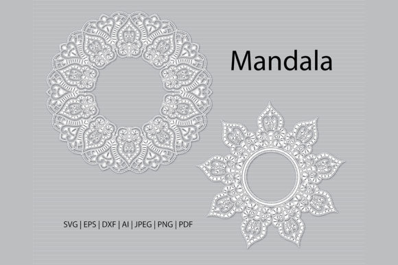 Download Free 1 Mandala Cricut Svg Designs Graphics for Cricut Explore, Silhouette and other cutting machines.
