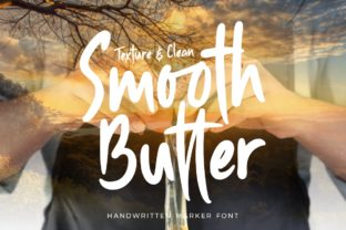 Print on Demand: Smooth Butter Display Font By putracetol
