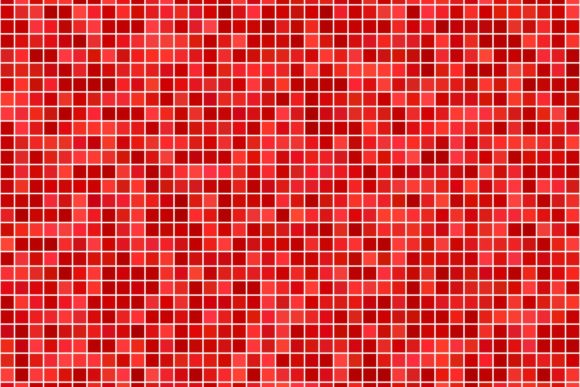 Download Free Square Mosaic Red Tile Background Graphic By Davidzydd for Cricut Explore, Silhouette and other cutting machines.