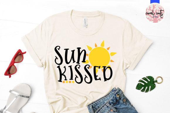 Download Free Sun Kissed Cut File Graphic By Coralcutssvg Creative Fabrica for Cricut Explore, Silhouette and other cutting machines.