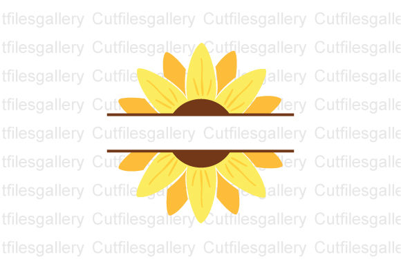 Download Free 52 Sunflower Svg Designs Graphics for Cricut Explore, Silhouette and other cutting machines.