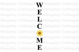Download Free Sunflower Welcome Sunflower Graphic By Cutfilesgallery SVG Cut Files