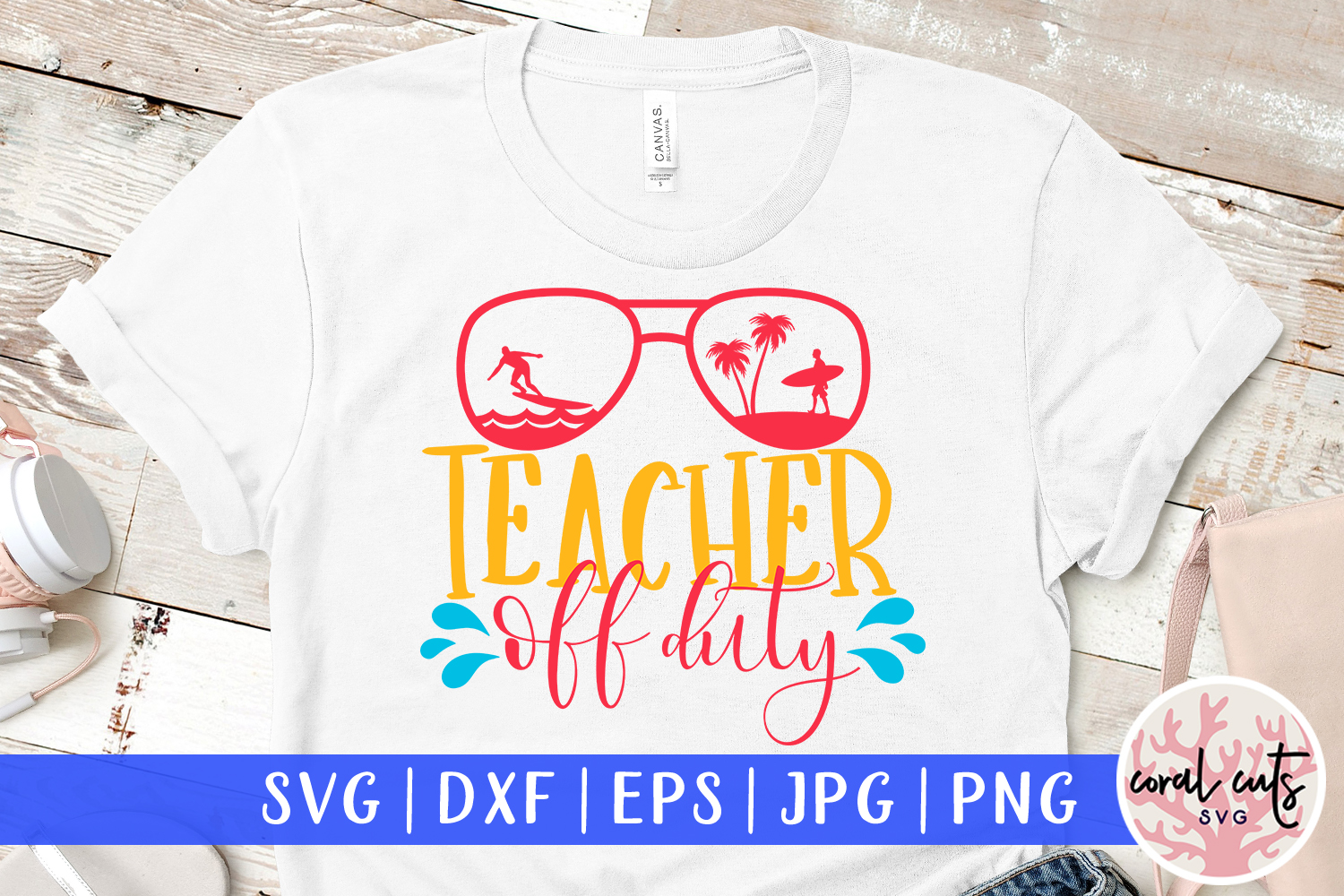 Download Free Teacher Off Duty Svg Cut File Graphic By Coralcutssvg Creative for Cricut Explore, Silhouette and other cutting machines.