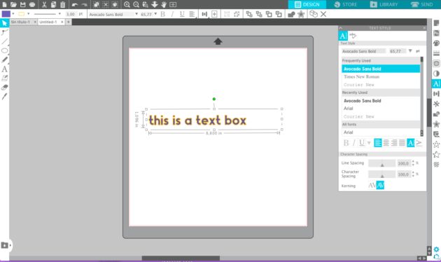 how to edit text in Silhouette Studio