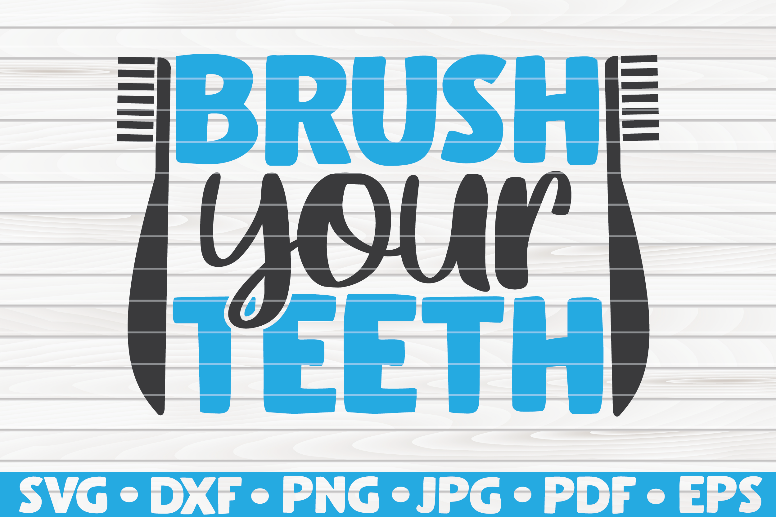 Download Free Brush Your Teeth Graphic By Mihaibadea95 Creative Fabrica for Cricut Explore, Silhouette and other cutting machines.