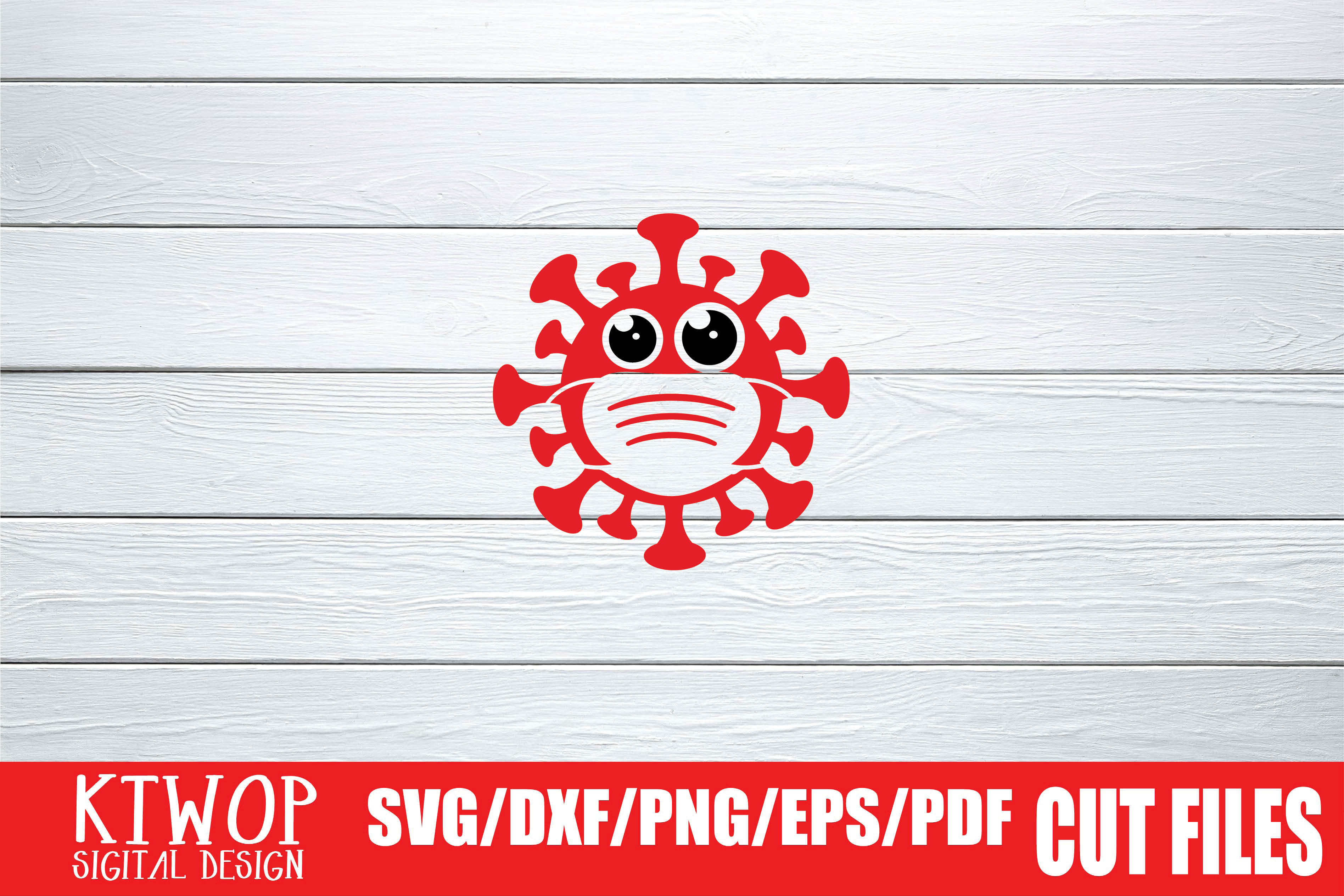 Download Free Cutie Corona Mascot Graphic By Mr Pagman Creative Fabrica for Cricut Explore, Silhouette and other cutting machines.