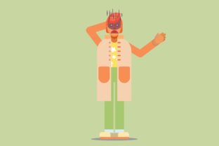 Print on Demand: Character Vector Illustration Graphic Illustrations By altumfatih