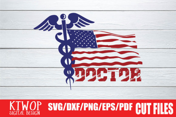 Download Free Doctor Usa Flag 2020 Graphic By Mr Pagman Creative Fabrica for Cricut Explore, Silhouette and other cutting machines.