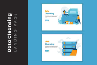 Data Cleansing Illustration Concept Graphic Illustrations By HengkiL