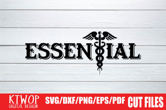 Download Free Essential 2020 Graphic By Ktwop Creative Fabrica for Cricut Explore, Silhouette and other cutting machines.