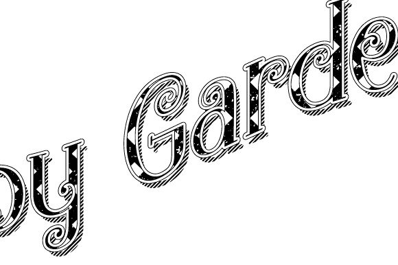 Download Free Garden Happy Gardening Black And White Graphic By Graphicsfarm for Cricut Explore, Silhouette and other cutting machines.