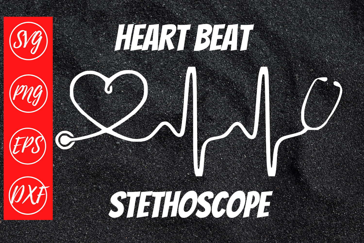Download Free Heart Beat Stethoscope Svg Cut File Graphic By Mockup Venue for Cricut Explore, Silhouette and other cutting machines.