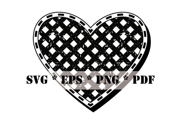 Download Free Heart Black And White Vintage Graphic By Graphicsfarm Creative for Cricut Explore, Silhouette and other cutting machines.