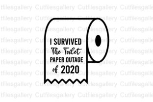 Download Free I Survived The Toilet Paper Svg Graphic By Cutfilesgallery for Cricut Explore, Silhouette and other cutting machines.