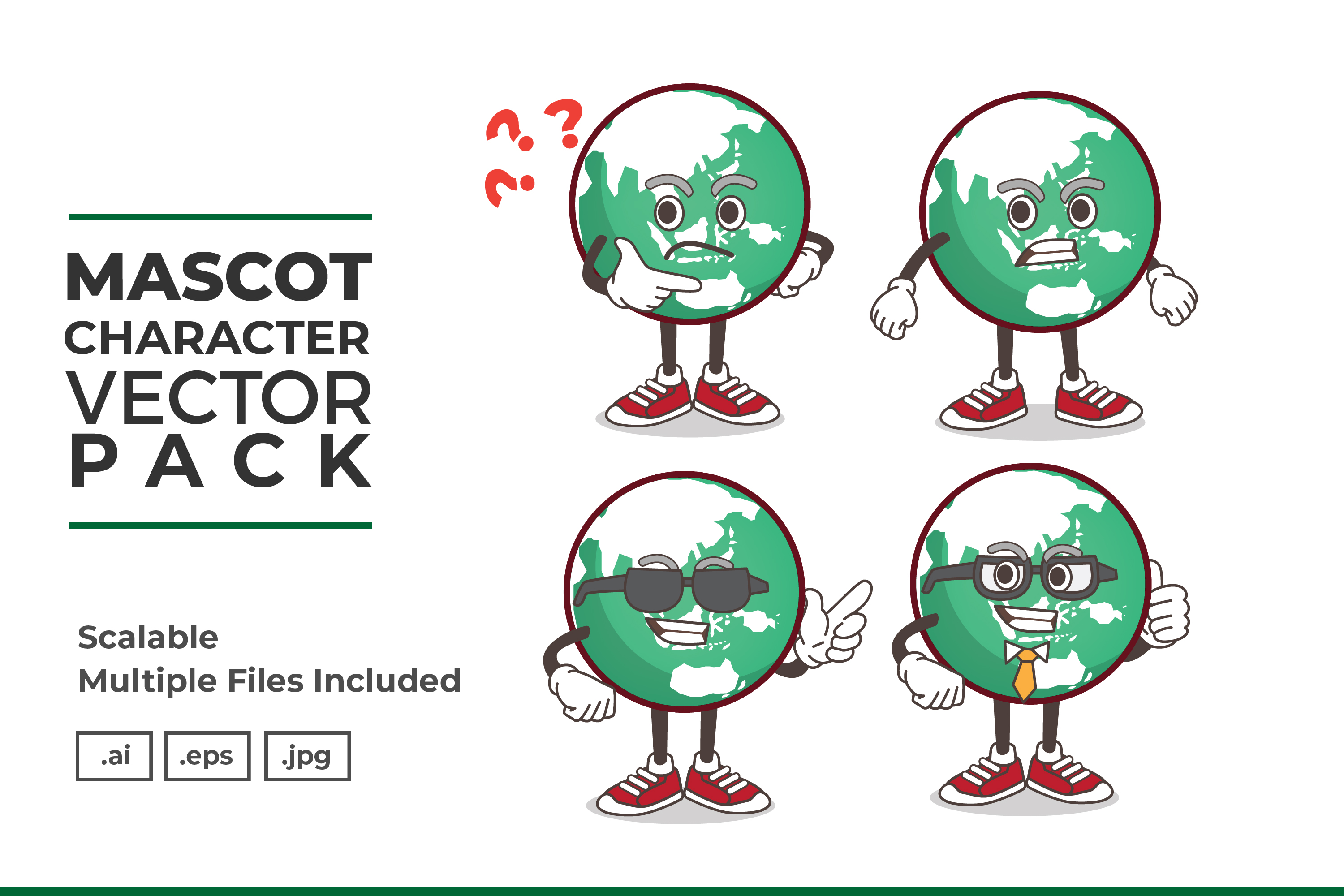 Download Free Mascot Character Vector Illustration Graphic By Dendysign for Cricut Explore, Silhouette and other cutting machines.