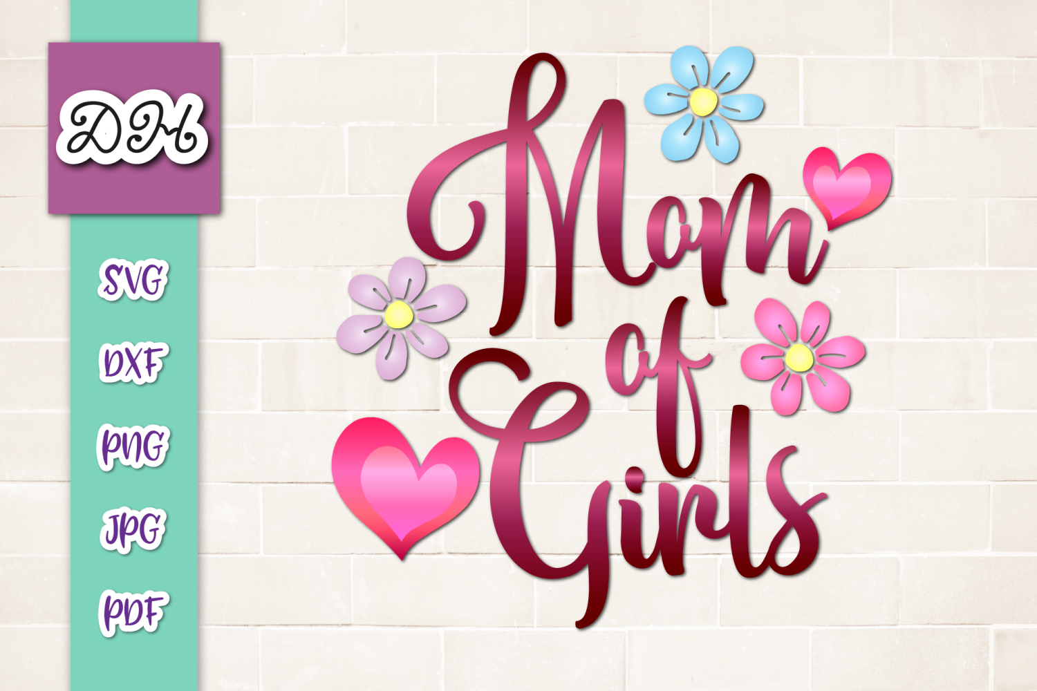Get Mom Of Girls PNG