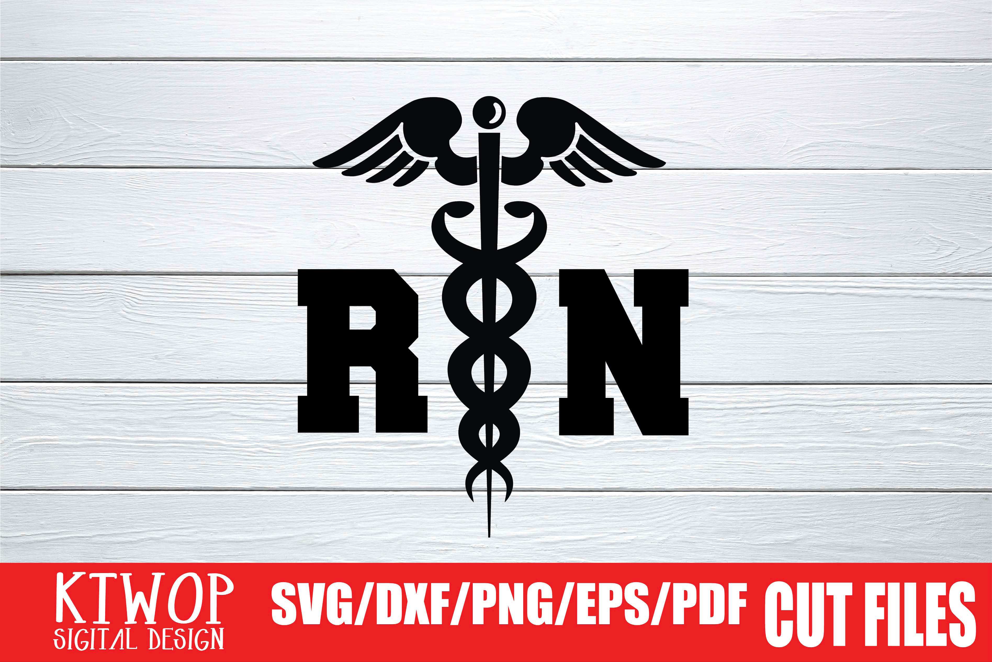 Download Free Rn Nurse 2020 Graphic By Ktwop Creative Fabrica for Cricut Explore, Silhouette and other cutting machines.