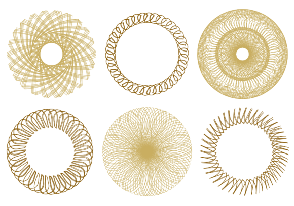 Print on Demand: Coloring Geometry Graphic Coloring Pages & Books By lunarctic