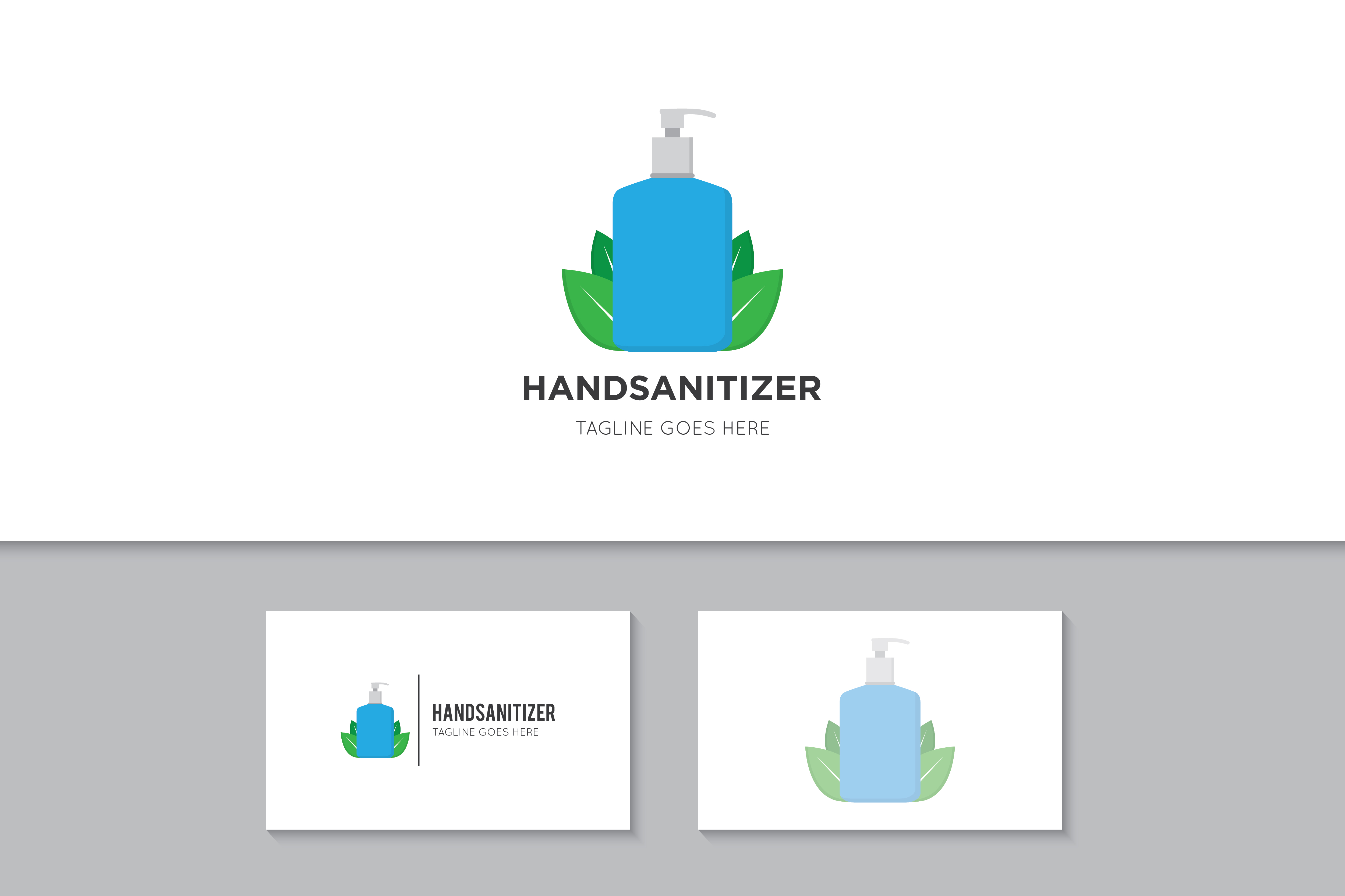 Download Free Hand Sanitizer Logo Icon Symbol Vector Graphic By Amindachoirunanaz Creative Fabrica PSD Mockup Template
