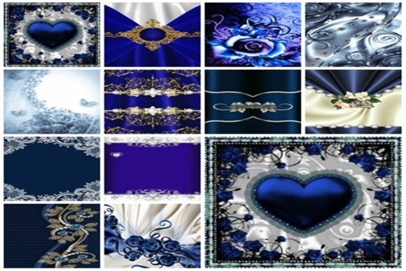 12 Light Blue and White Digital Papers 1 Graphic Textures By Crear y pegar