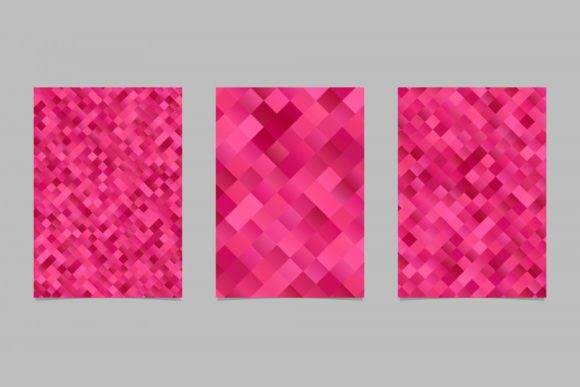 3 Gradient Square Page Backgrounds Graphic Print Templates By davidzydd