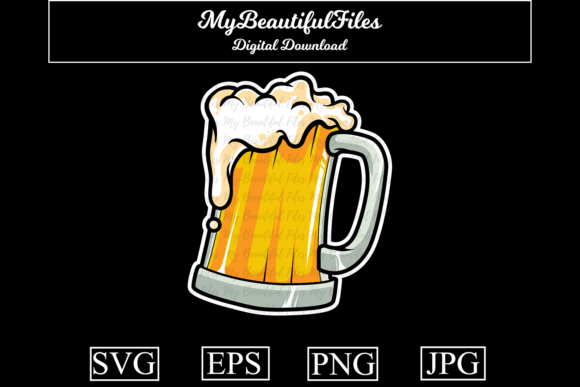 Print on Demand: Beer Graphic Illustrations By MyBeautifulFiles