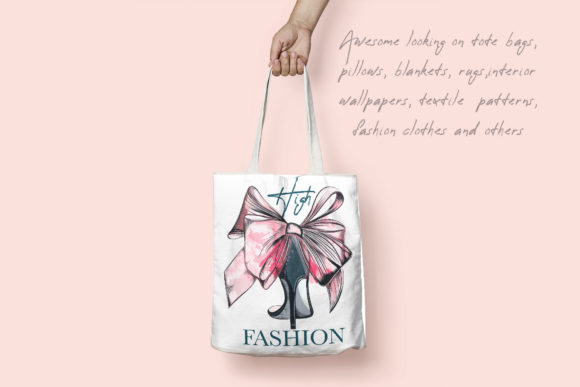 Download Free Fashion Vector Illustration Female Shoe Graphic By for Cricut Explore, Silhouette and other cutting machines.