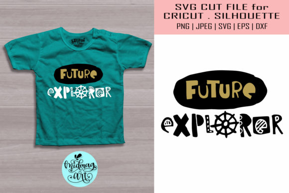 Download Free Future Explorer New Born Graphic By Midmagart Creative Fabrica for Cricut Explore, Silhouette and other cutting machines.