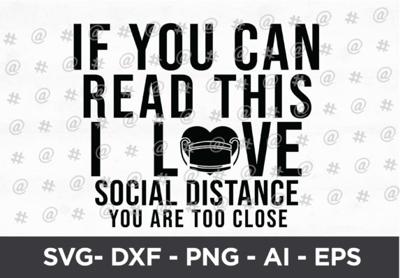 Download Free I Love Social Distance Svg Design Graphic By Spoonyprint for Cricut Explore, Silhouette and other cutting machines.