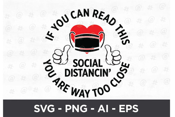 Download Free I Love Social Distancin Svg Design Graphic By Spoonyprint for Cricut Explore, Silhouette and other cutting machines.